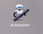 Automatorでサービス登録